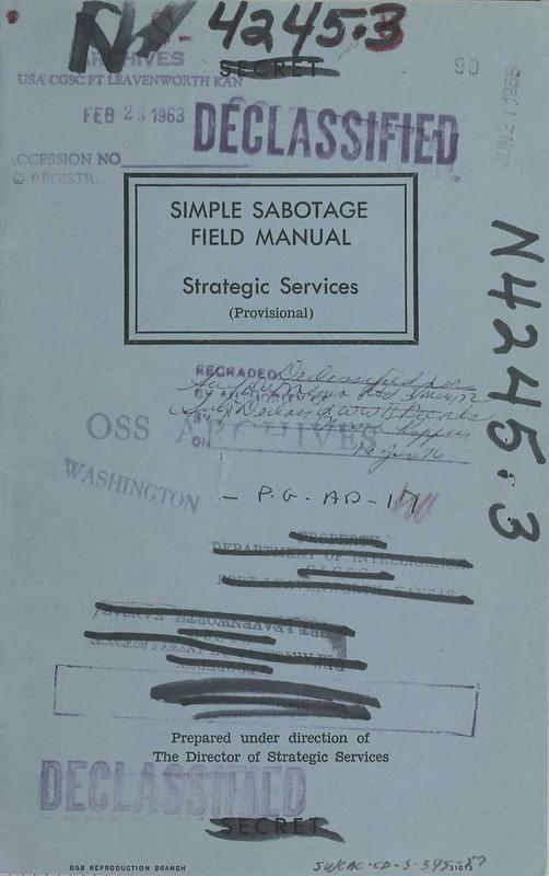 OSS_Simple_Sabotage_Field_Manual