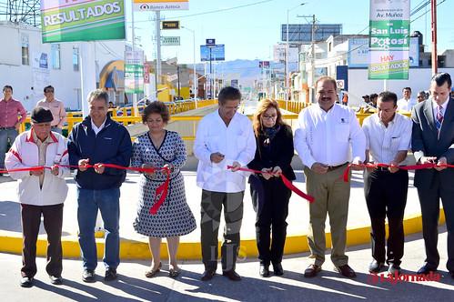 Inauguración Av. Muñoz