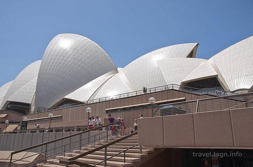 【写真】世界一周 : オペラハウス(近景、内部)