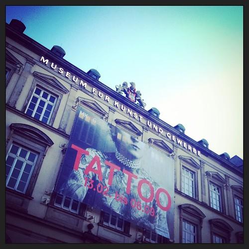 Lohnt sich! #museumsglück #tattoo #hamburg #inspiration