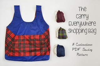 FREE PDF Sewing Pattern! The Carry Everywhere Shopping Bag
