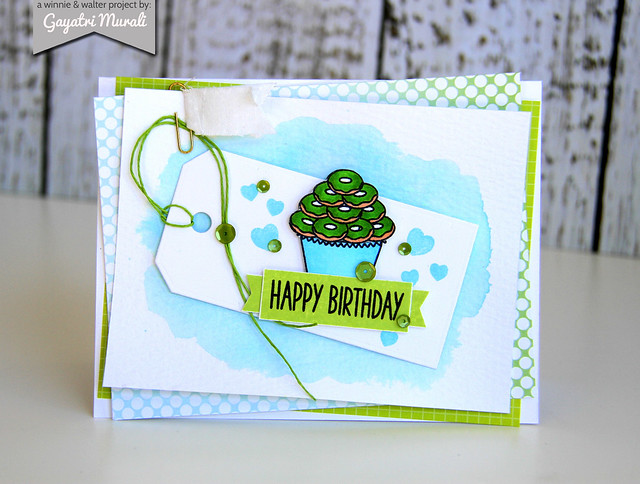 Gayatri_cupcake_Happy Birthday card