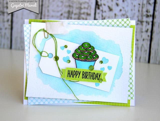 Gayatri_cupcake_Happy Birthday card