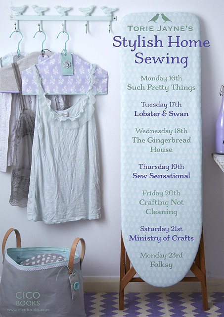 TORIE JAYNE'S STYLISH HOME SEWING published by CICO Books (£14.99) Photos © SUSSIE BELL, Illustrations © KATE SIMUNEK