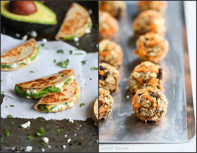 Healthy Snack Recipes | cookincanuck.com