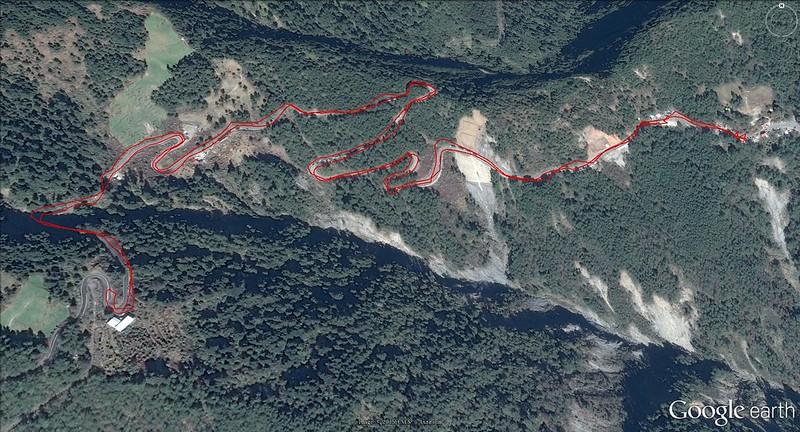 Day 8 步行路線圖