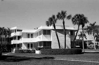 Mid-Century Apartment Building Surfside