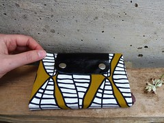 Moleskine cover with african print
