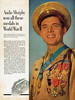 America's most highly decorated soldier of World War II - Audie Murphy