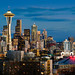 Seattle Skyline by EdBob