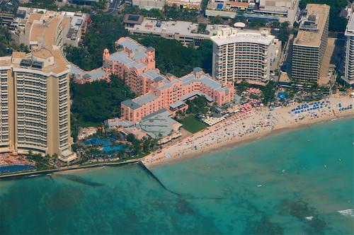 Royal Hawaiian Hotel at Waikiki Beach