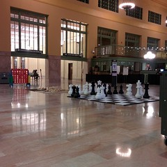Game night at the Union Depot.