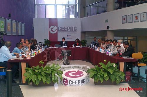 Ceepac aprueba candidaturas a la gubernatura del estado