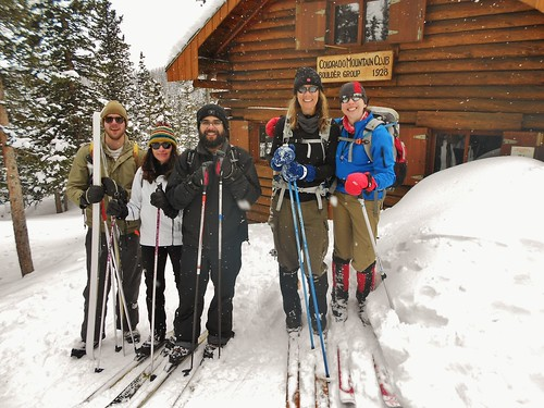 Wooden Ski Day at CMC Cabin