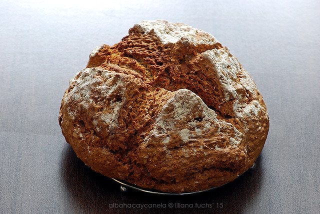 Soda bread with Buckwheat flour