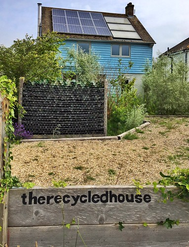 Environmentally friendly living in Camber village, East Sussex
