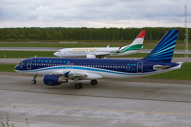 Azerbajan Airbus A320-200 4K-AZ80