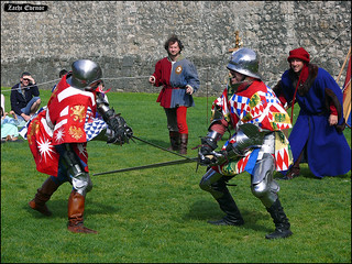 Knights Dueling Act