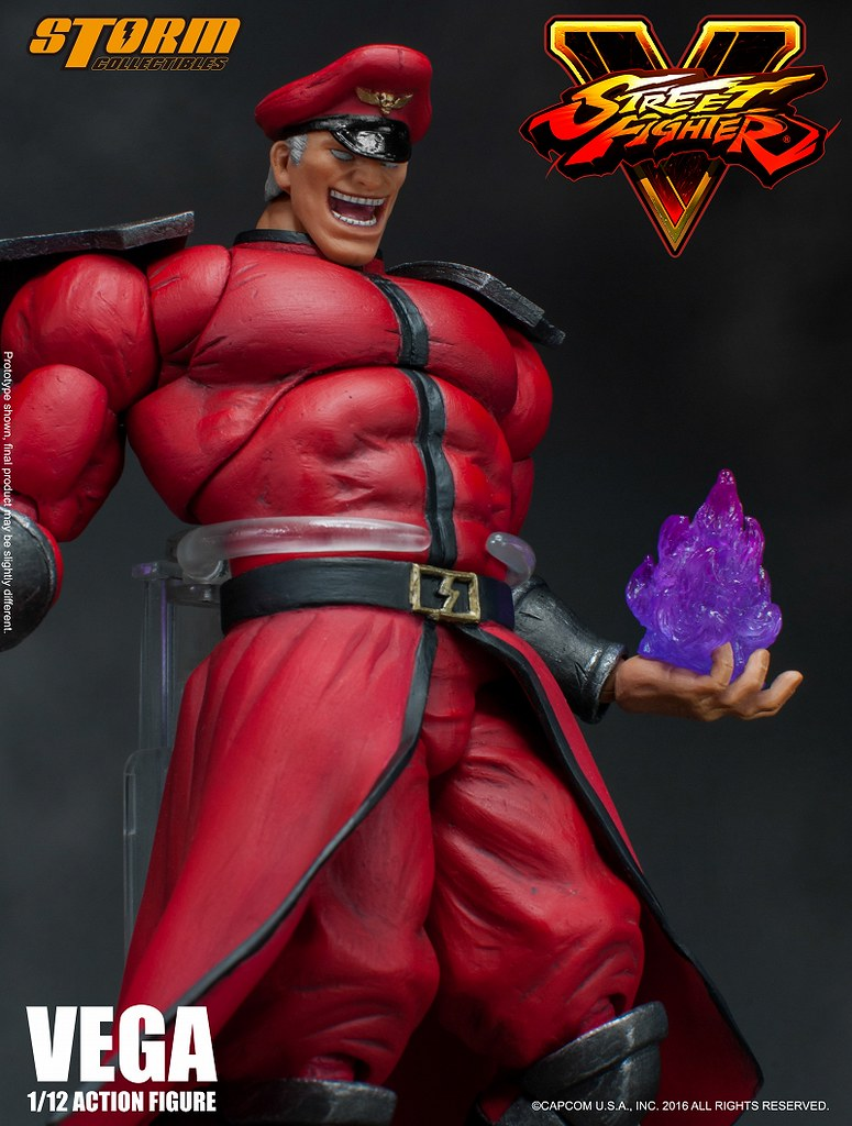 Storm Collectibles – 《快打旋風5》1/12 比例 貝卡 Vega/M. Bison 1:12 scale action figure