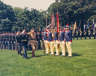 1971-07-13-Arrival Ceremony-New Zealand
