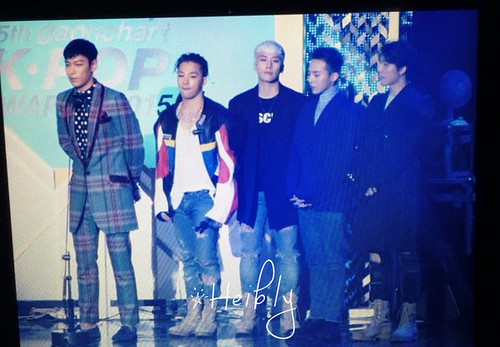 Big Bang - The 5th Gaon Char K-Pop Awards - 17feb2016 - Heibly - 01