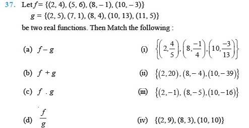 Class 11 Important Questions For Maths Relations And