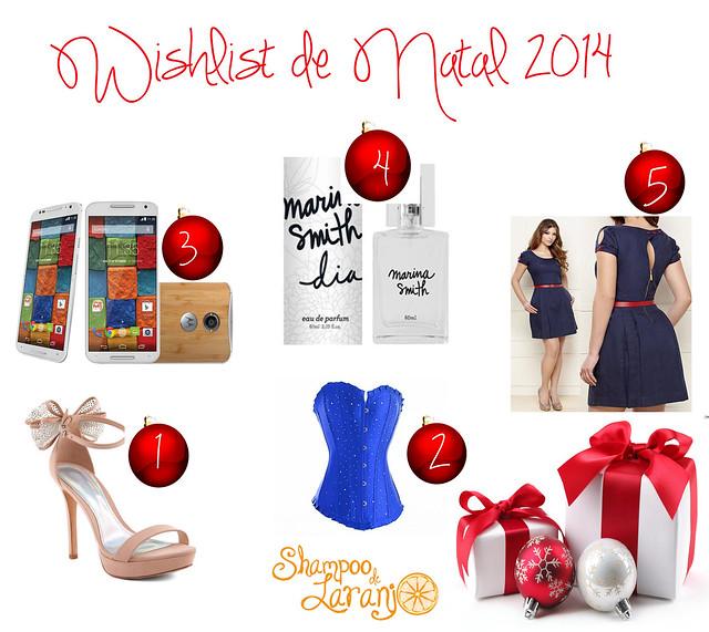Wishlist de Natal 2014