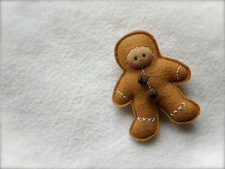 CARAMEL Gingerbread Man: tan