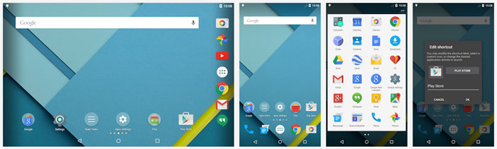Customize your Android Home screen using Apex Launcher