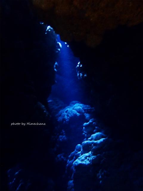 洞窟の光は夏に比べてやや弱め。。でもキレイでした!!!