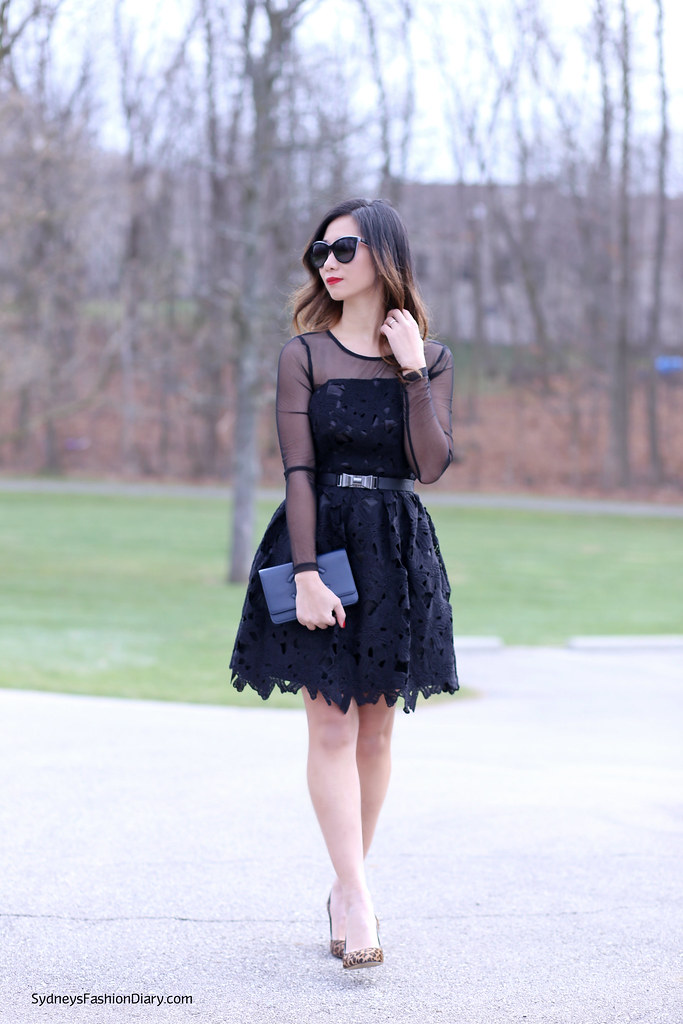 LookBookStore_Holiday black dress