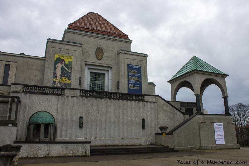 DARMSTADT - Ausstellungsgebäude