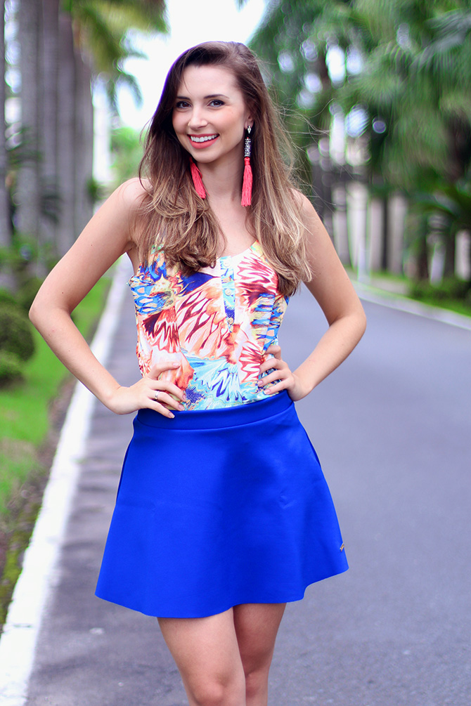 8-look com saia azul bic lamandinne blog sempre glamour