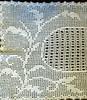 Vintage Filet Crochet Large Rectangular Doily