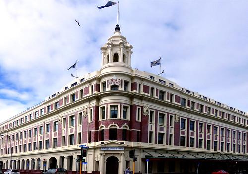 The Allied Press building. Dunedin.