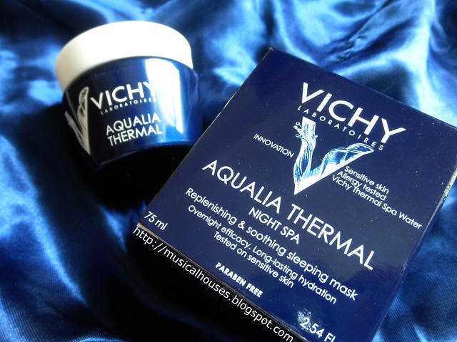 Vichy Aqualia Thermal Night Spa Sleeping Mask Box