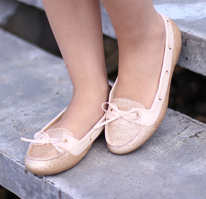 9-look do dia shorts margarida e sapatilha dourada belle Petite Jolie blog sempre glamour