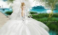 Lamu Fashion-Gown Bridal Amore Mio Version 1
