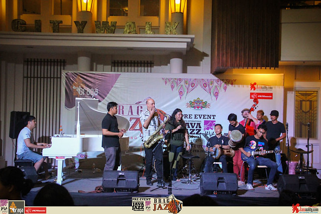 Pre Event Java Jazz Festival 2015 - Braga Jazz Walk Braga CityWalk- Jam Session (1)