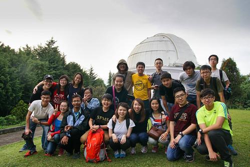 Bosscha Observatory Group Photo