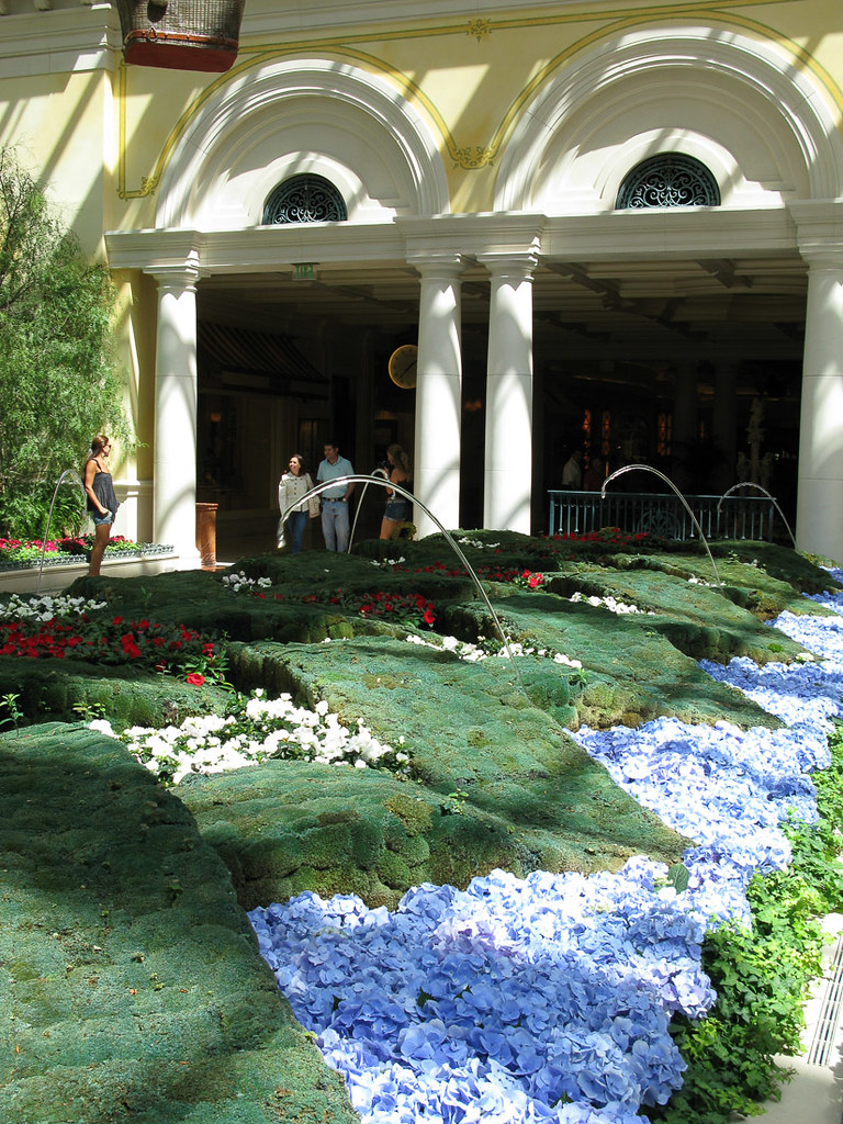 Conservatory at the Bellagio (Summertime)
