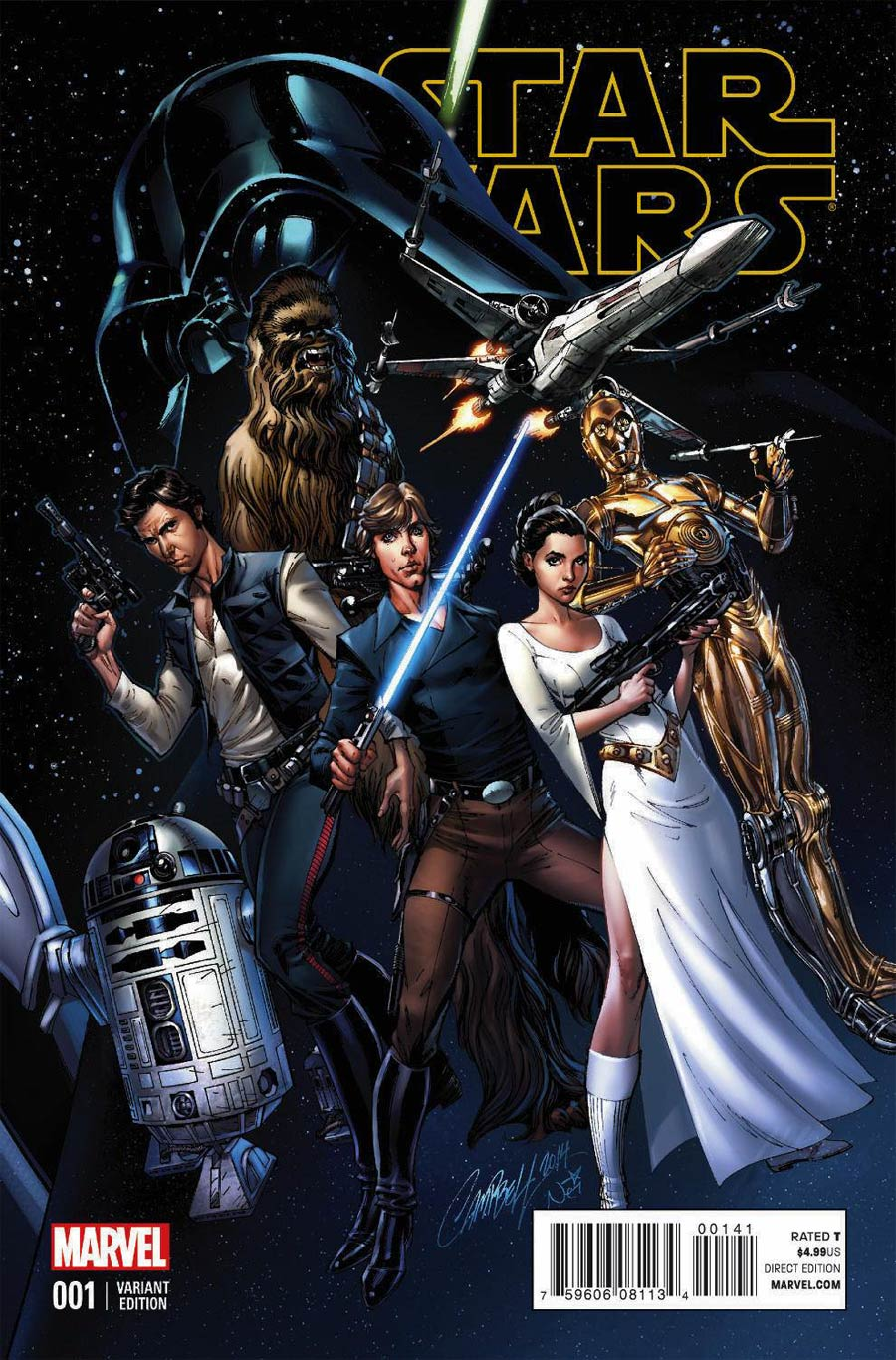 Star Wars Book Cover Art : Marvel star wars cover gallery roqoo depot