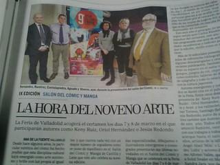 9º Salón del Cómic y Manga de Castilla y León. Rueda de Prensa en Medios.