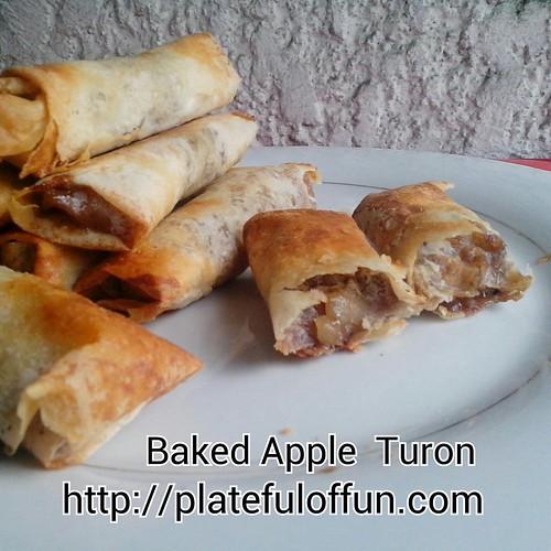 Baked Apple Turon