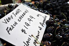 Fresh Cherries   Fremantle, Western Australia