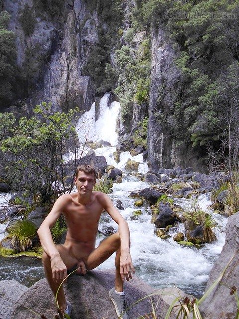 naturist 0003  Guysers Gaystay, Rotorua, New Zealand