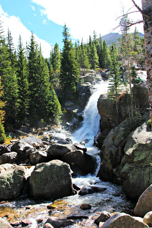Rocky Mountains -kansallispuiston vesiputoukset