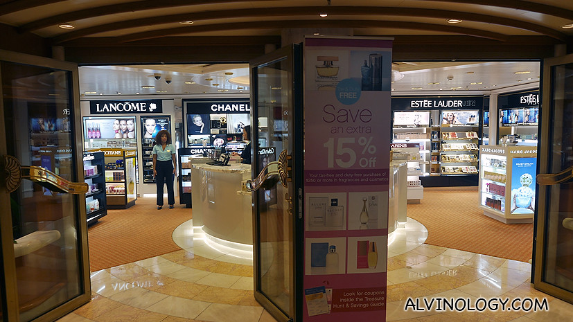 Duty-free cosmetic and beauty products - whether you get a good deal is dependent on the strength of your country's currency against the USD as all items are priced in USD