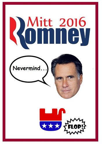 You Won't Have Mitt Romney to Kick Around Anymore
