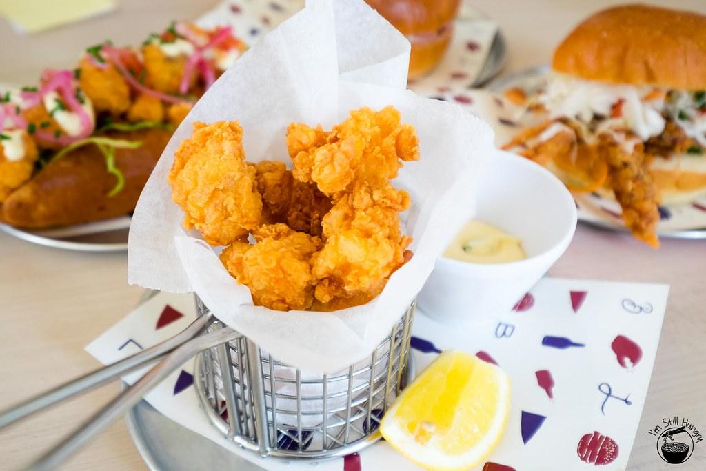 Popcorn lobster – salt & pepper chunks, lemon aioli ($15)